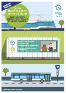 RATP / Partenariat Relais Colis
