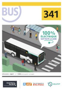 RATP / Bus ligne 341 100% éléctrique
