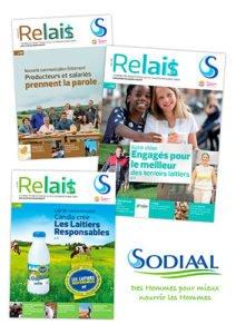 SODIAAL / Magazine interne Relait